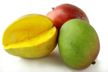 mango multicolor exotic fruits