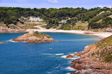 Porteley bay at Jersey