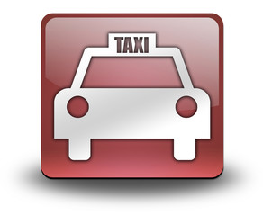 "Red 3D Effect Icon ""Taxi Cab"""