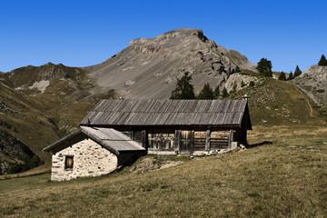 chalet de montagne des alpes