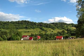 Landscape - Beskidy Mountain View