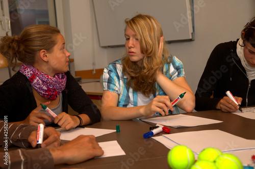 Schülerinteraktion