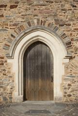 Porte de chateau féodale