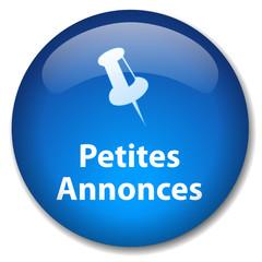 Bouton Web PETITES ANNONCES (vente achat d'occasion journal)