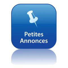Bouton Web PETITES ANNONCES (vente achat journal particulier)