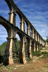 Roman Aqueduct at Tarragona in Catalonia, Spain