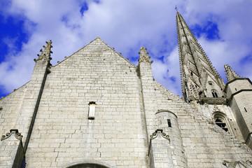 france; 85; niort : église saint andré