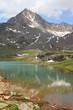 Italian Alps, Gavia Pass in Stelvio National Park