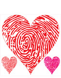 thumbprint on hearts