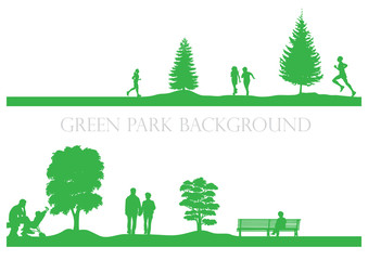 Green Perk Background #2