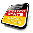 3d button riester rente, altersvorsorge