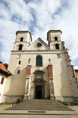 St. Peter and Paul church of benedictine abbey in Tyniec