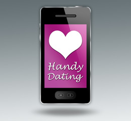 "Smartphone ""Handy Dating"""