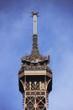 En haut de la Tour Eiffel
