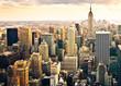 Leinwanddruck Bild - Skyline von New York