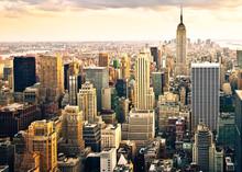 Fototapete - Skyline von New York