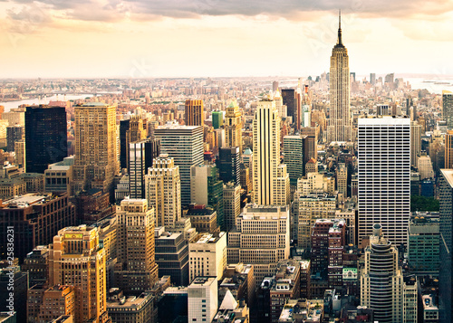canvas print picture Skyline von New York