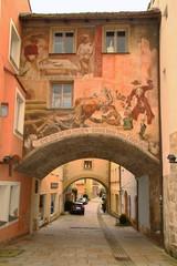 Burghausen City center
