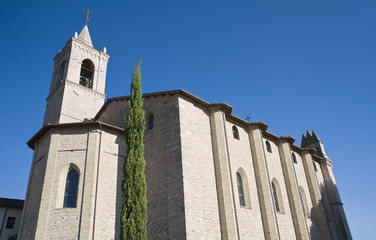 Sanctuary of St. Maria in Rivotorto. Umbria.