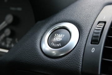Start Stop Engine - button / Schalter