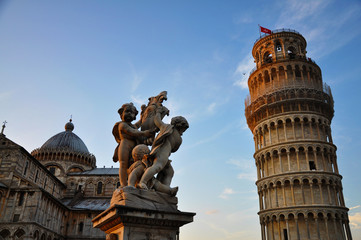 İtalya Pisa Kulesi