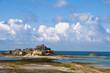 Elisabeth castle in Saint Helier - Jersey island