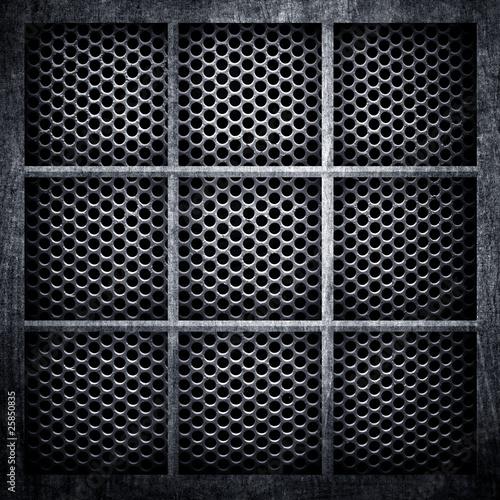Fototapeta metal lattice background