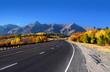 Scenic drive San Juan mountains