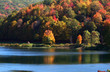 Scenic landscape in Allegheny state