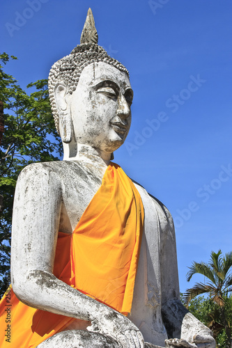 buddha image in thai temple.