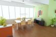 3d render modern dining room