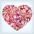 Quadro floral heart