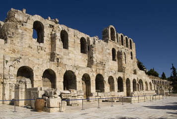 Amphitheater entrance in Athens, Greece
