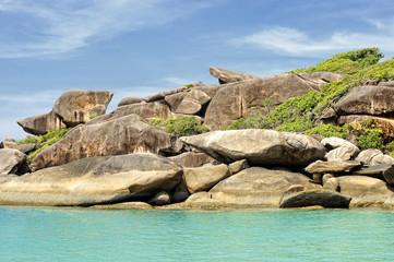 Rocher de Donald aux îles Similan, Thaïlande