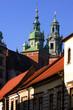 Kanonicza street with John Paul II house, Krakow