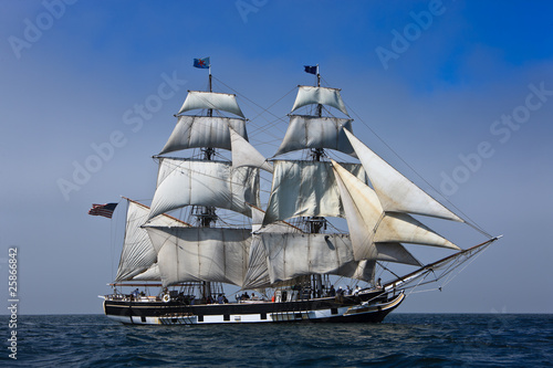 Sailing ship at Sea|25866842