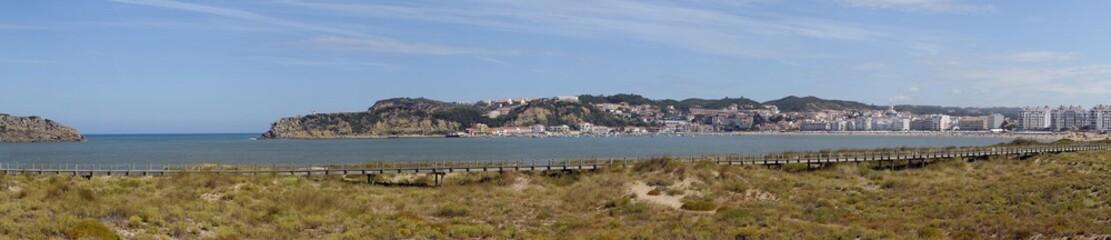 Panorámica de Sao Martinho, Portugal.