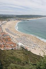 Playa de Nazaré, Portugal.
