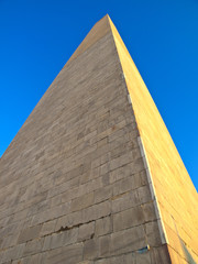 Abstract View of Washington DC Monument