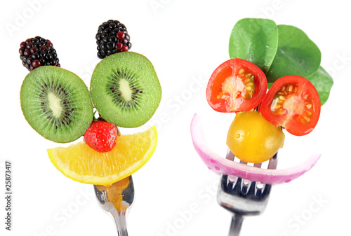 Papiers peints Cuisine Faites manger des fruits et des légumes à vos enfants !