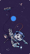 roleta: Panda-astronaut