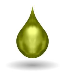 Golden Oil / Petrol Drop
