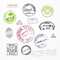 Stamps USA Passport