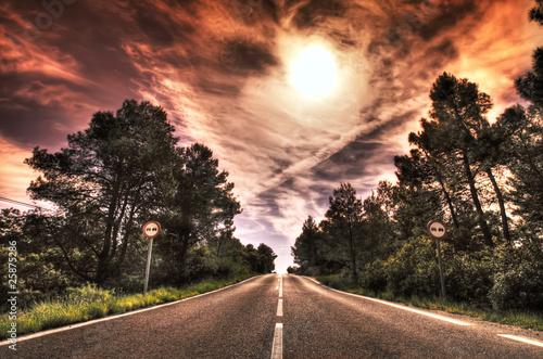 kolorowe road