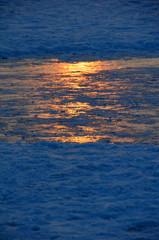 Eis auf der Alster
