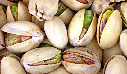 Close View Pistachio Nuts
