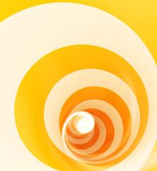 spirale orange