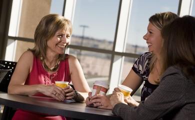 Women Visiting Together