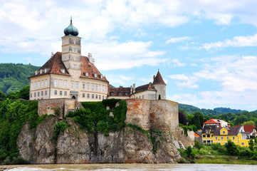 Schonbuhel Castle along the Danube River, Austria