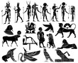 Various themes of ancient Egypt - 25889845
